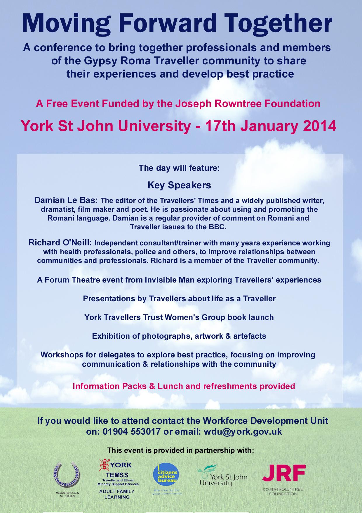 Moving Forward Together Conference2014